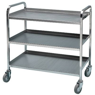 Bristol Maid Heavy Duty Stainless Steel Trolley :: Sports Supports |  Mobility | Healthcare Products